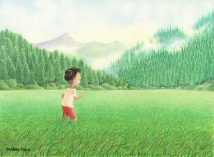 Yosuke et la forêt enchantée