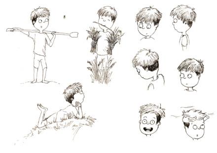 Crayonnés «Yosuke»